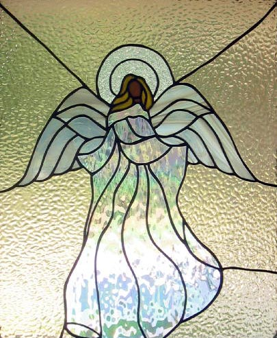 Stained glass--Angel